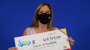 Lisa Williams'Rozario of Stouffville has $613,729 to put toward her dreams after winning a LOTTO MAX second prize in the June 8, 2021 draw.  (OLG)