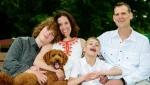 Keith McArthur, far right, alongside his family. (Provided by Keith McArthur)