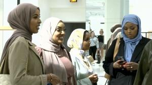 Muslim women.