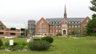 COVID-19 vaccinations will not be mandatory for students or faculty at Algoma University in Sault Ste. Marie when classes resume in September. (Mike McDonald/CTV News)