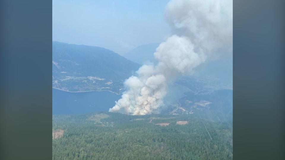 2021 BC wildfire update
