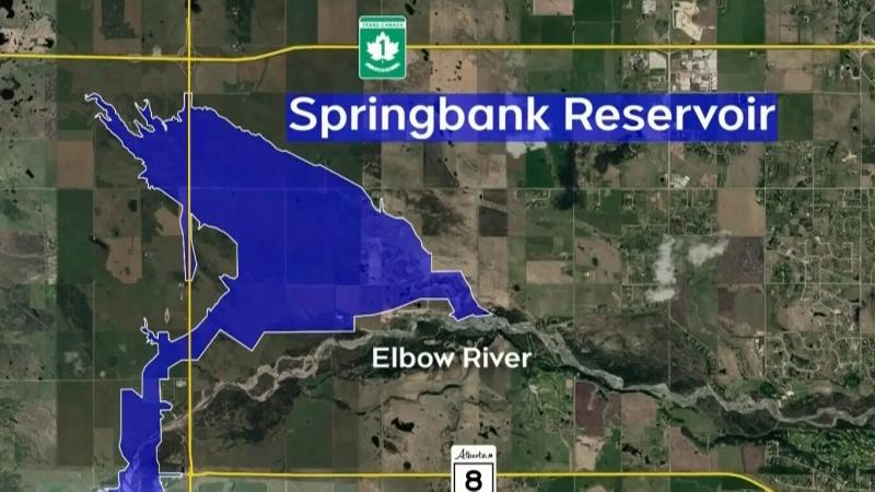 Springbank Reservoir receives federal funding