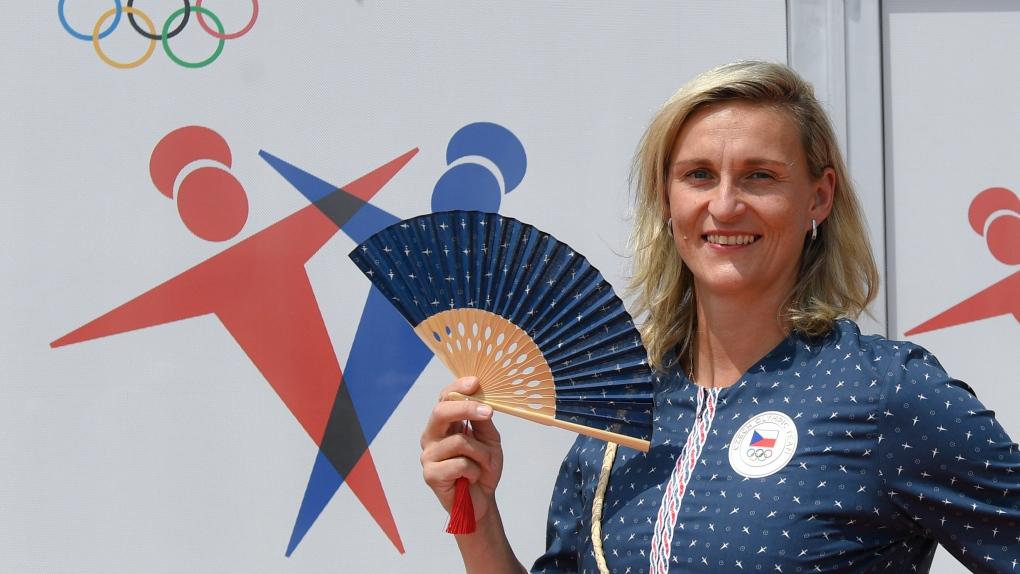 Czech javelin thrower Barbora Sportakova
