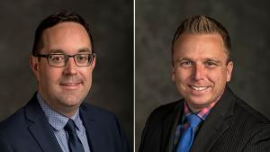 Councillors Glen Gower (left) and Scott Moffatt. (Photos: City of Ottawa)