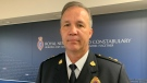 Royal Newfoundland Constabulary Supt. Tom Warren said Wednesday, July 21, 2021 at the force's provincial headquarters in St. John's, N.L., the force is looking into potential sexual harassment complaints made against four potential officers, with one of those officers now identified. THE CANADIAN PRESS/Sarah Smellie
