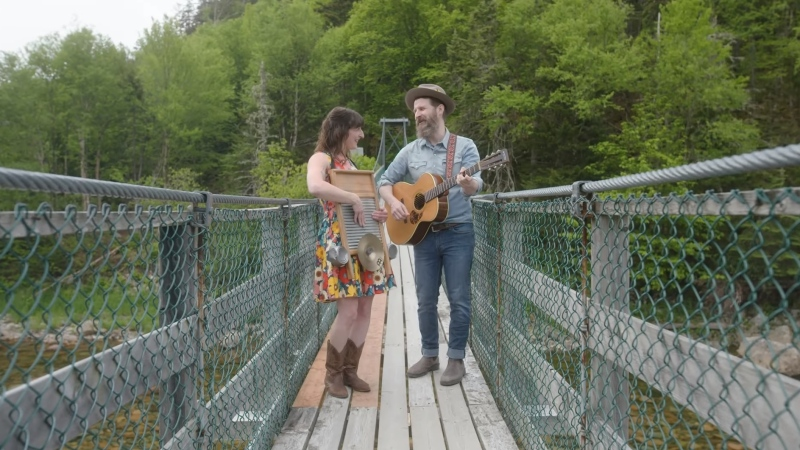 """New Brunswick band Tomato/Tomato came up with a new theme song for the city, played to the tune of """"Down by the Bay"""". Photo courtesy: Envision Saint John."""
