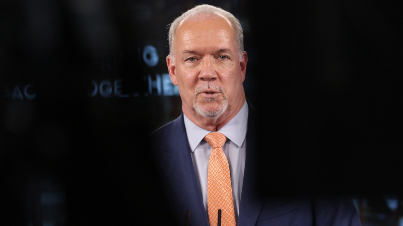 Horgan takes questions on wildfire situation
