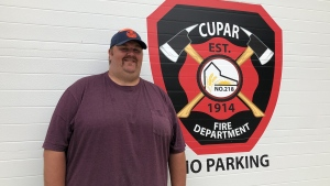 Mike Pearce has dedicated most of his time to improving his hometown of Cupar. (Mackenzie Read/CTV News)