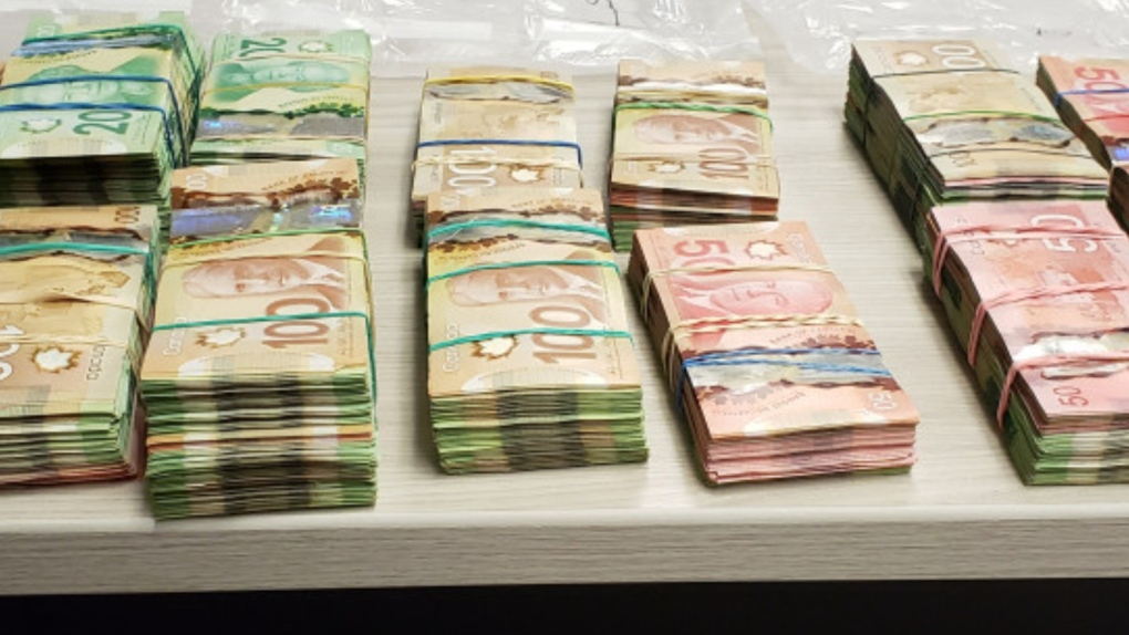 Traffic Stop Bust RCMP