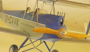 The North Bay Museum has lift off on a new exhibit looking at the history of aviation in the city. The exhibit, called Gateway To The Sky, aims to show how aviation history led to the current North Bay Jack Garland Airport. (Eric Taschner/CTV News)