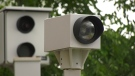 A traffic camera is seen in this photograph. (Jon Woodward/CTV News Toronto)