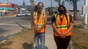 A Saskatoon patrol group is keeping people safe during extreme heat. (Carla Shynkaruk/CTV Saskatoon)