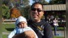 Father drowns while trying to save son