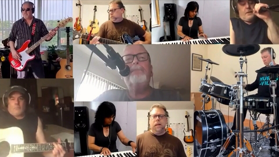 Connecting with musicians worldwide