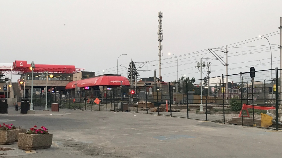 Victoria Park/Stampede LRT station