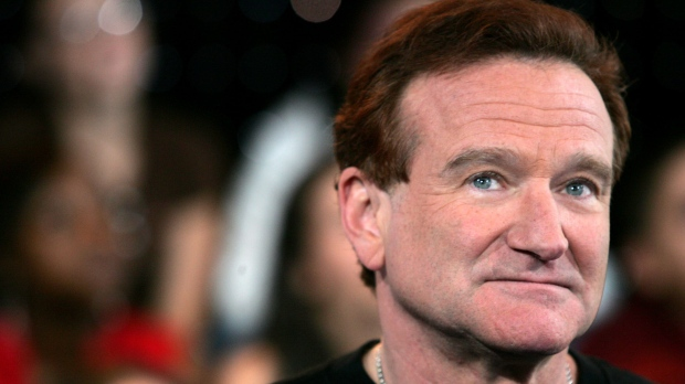 Actor Robin Williams appears onstage during MTV's Total Request Live at the MTV Times Square Studios on April 27, 2006 in New York City. (Peter Kramer/Getty Images/CNN)