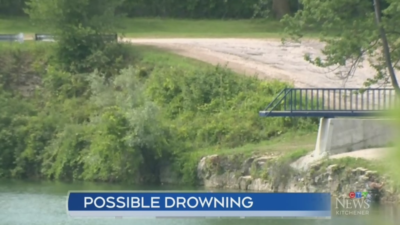 Possible drowning at Trout Lake Quarry