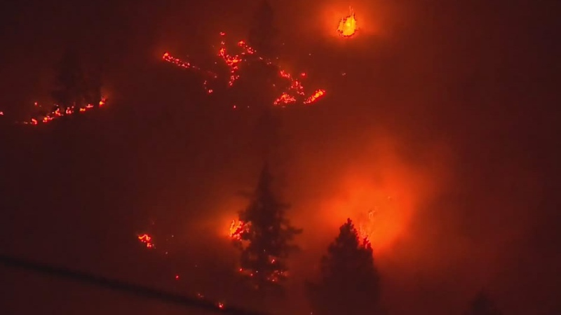 More evacuation orders over B.C. wildfires