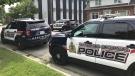 Waterloo regional police are investigating a stabbing on Laurel Street. July 22, 2021. (CTV Kitchener)