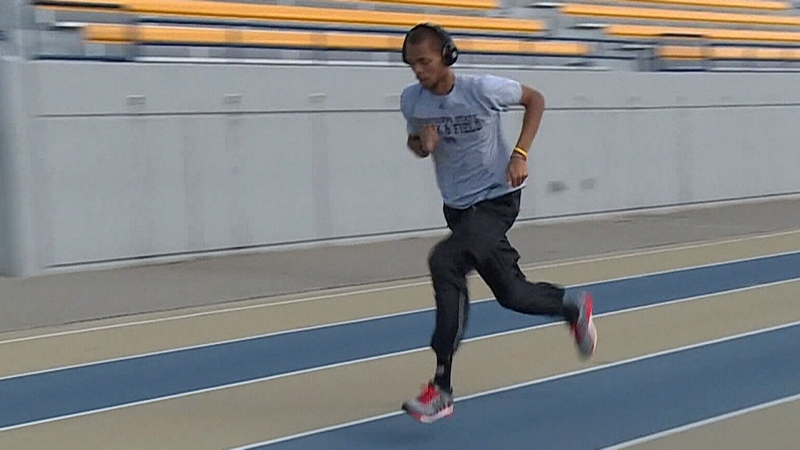 Brandon McBride's journey to Olympics