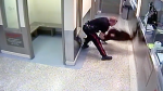 Dalia Kafi being assaulted by CPS officer in 2017