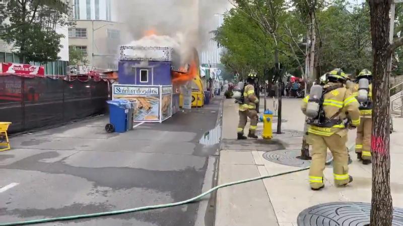 Taste of Edmonton fire