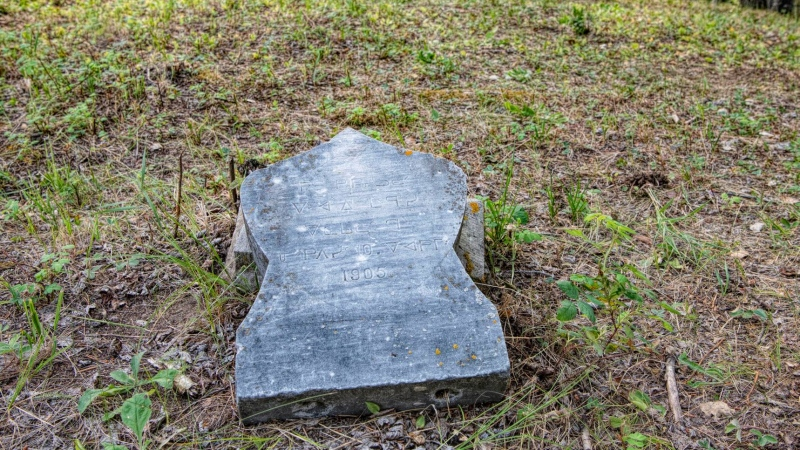 A ground-penetrating radar search is set to take place on Saturday and Sunday at an old cemetery site on an urban reserve in La Ronge. (Kandis Riese/Facebook)