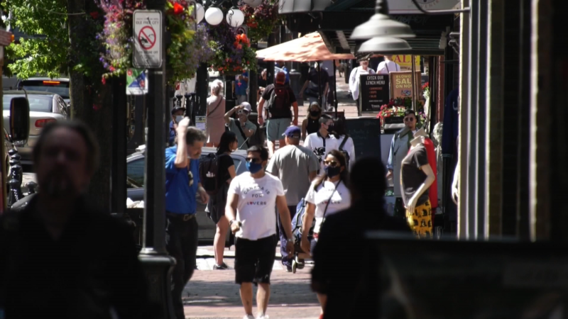 While shoppers have returned to the streets of Vancouver, businesses in Gastown say there's no replacing the flood of cruise ship passengers who normally come and go this time of year.