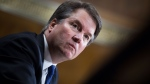 The FBI disclosed that it received more than 4,500 tips on a phone line in 2018 as part of a background investigation into then-Supreme Court nominee Brett Kavanaugh and provided 'relevant' ones to former U.S. President Donald Trump's White House counsel. (Tom Williams/Pool/Getty Images)