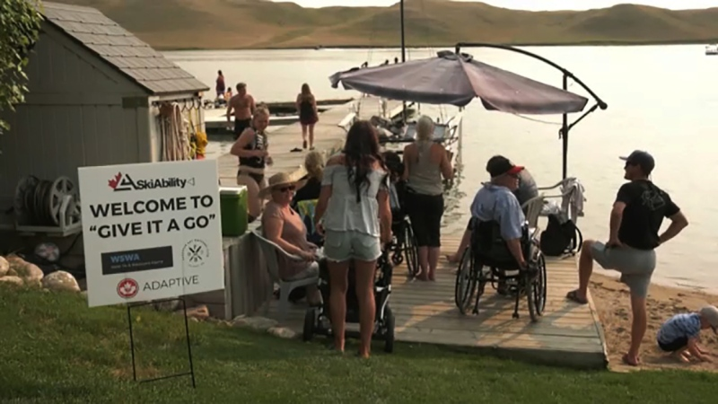An adaptive waterski program is giving people a once in a lifetime opportunity to try the sport