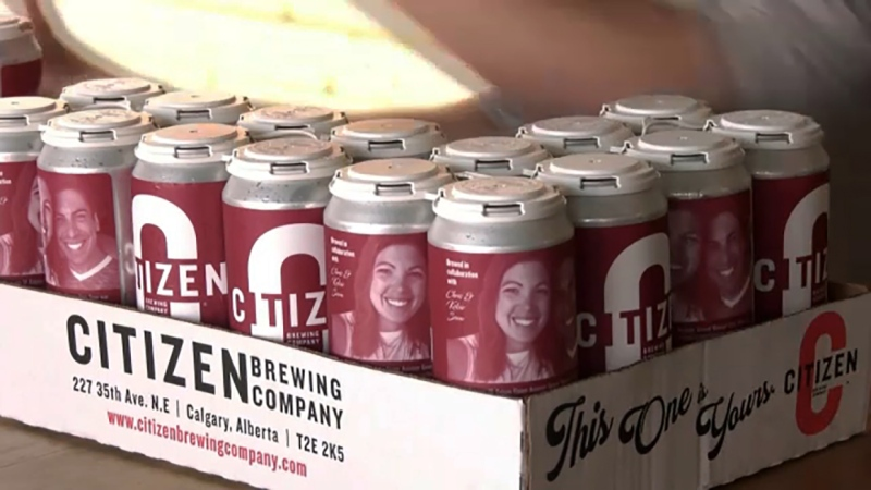 Inspired by the battle Flames Assistant GM Chris Snow and his family have waged against ALS, Citizen Brewery created a beer in their honour