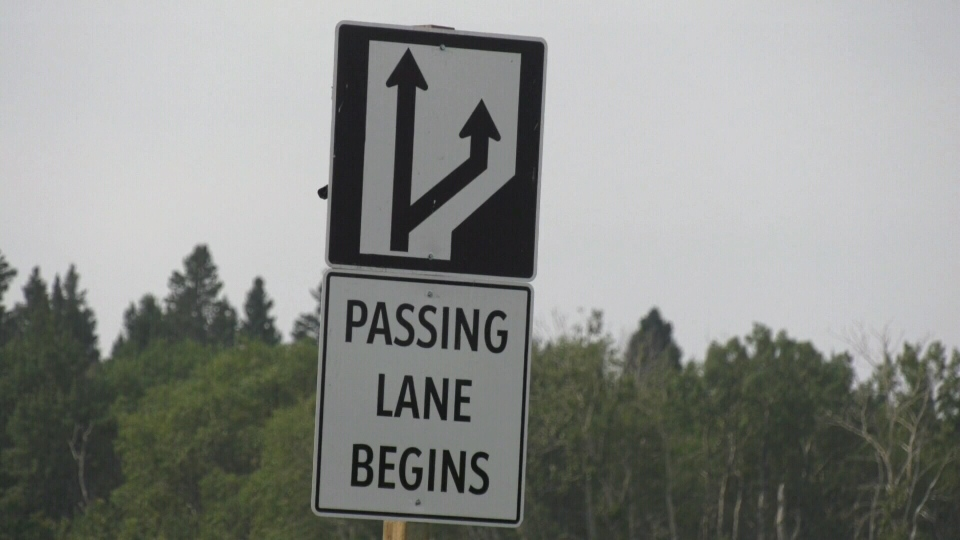 Sask. highway gets passing lanes
