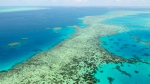 This Dec. 2, 2017, file photo shows the Great Barrier Reef in Australia. (Kyodo News via AP, File)