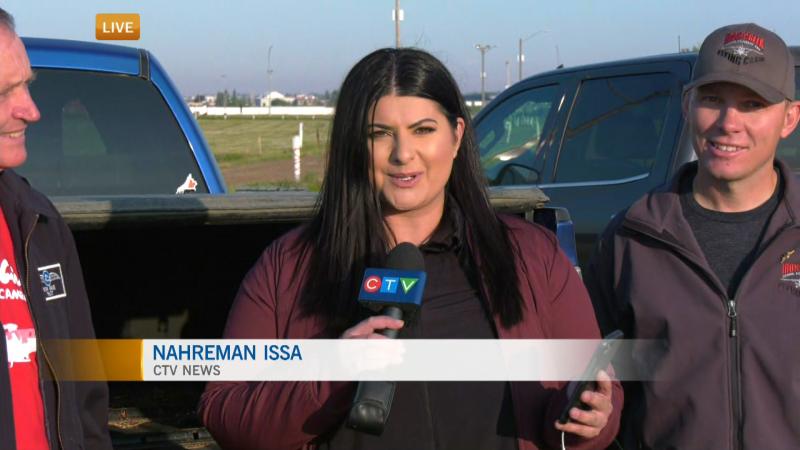 Nahreman Issa, Camrose Flying Club