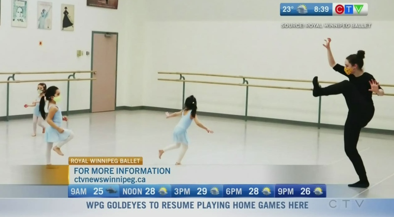 Program helps foster love of dance at early ages
