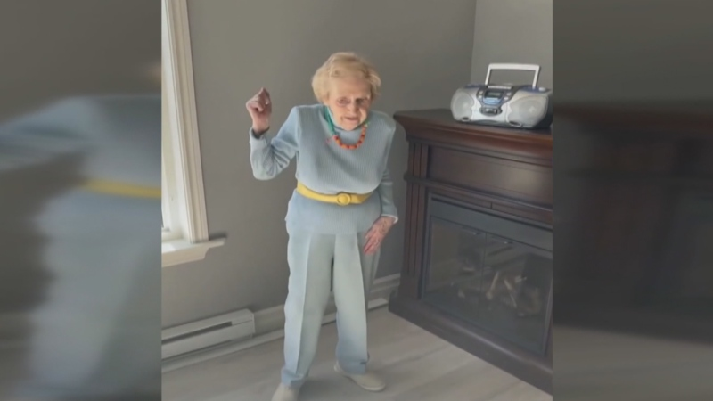 In an effort to fight the dance ban, residents at a Newfoundland retirement home put out a music video last Friday that showed them dancing to the theme song from the 1984 movie 'Footloose,' which was fittingly set in a town where dancing is illegal. (Brian Downton/YouTube)