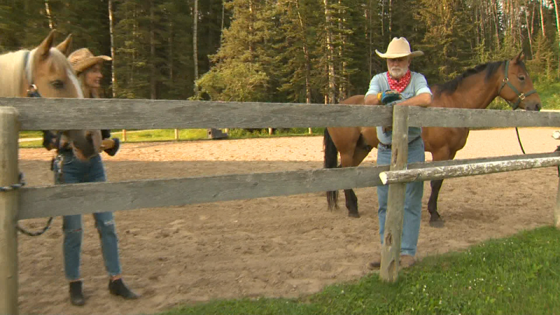 Mount up on the Cowboy trail with Travel Alberta and Moose Mountain Horseback Adventures