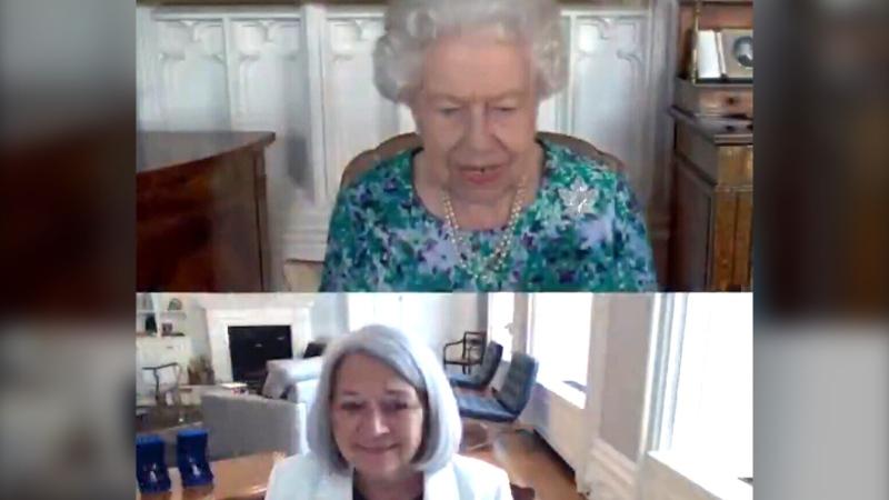 Mary Simon and Queen Elizabeth meet virtually