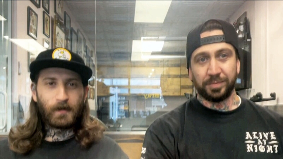 Mike Rose and Dave Lechasseur