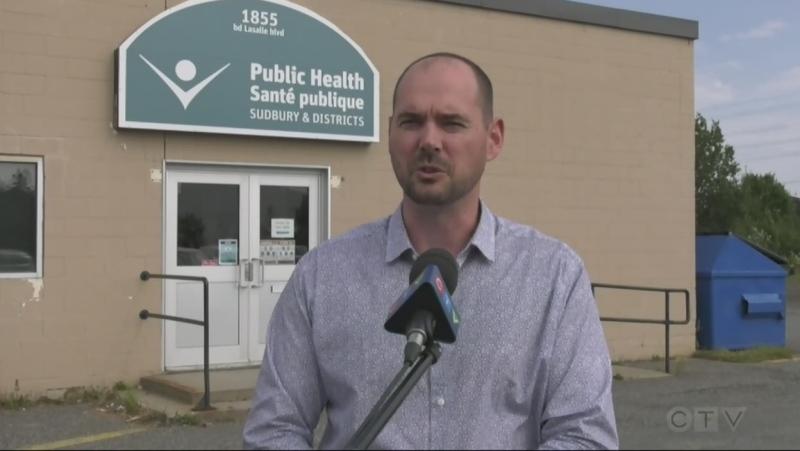 Adam Ranger of Public Health Sudbury & Districts