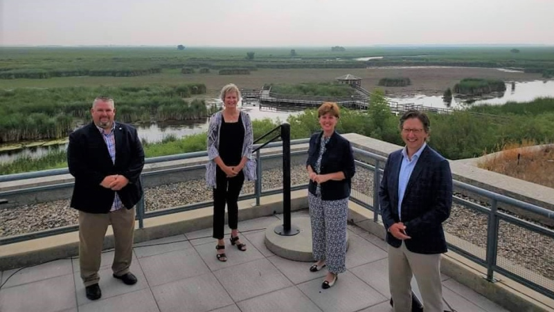 Agriculture Minister Marie-Claude Bibeau more than $25 million will be split between Ducks Unlimited Canada, the Nature Conservancy of Canada and the Manitoba Habitat Heritage Corporation. (Source: Marie-Claude Bibeau/ Twitter)