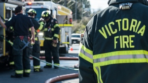 Victoria firefighters will be helping to administer COVID-19 vaccines in the region: (City of Victoria / Facebook)
