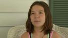 U.S. child describes how she escaped fire