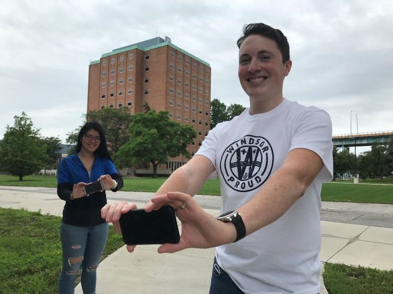 University of Windsor students Adam Pillon, 25, and Jackie Fong, 25, both have very personal reasons for vaccinating themselves against COVID-19.