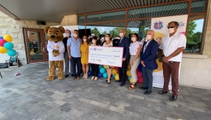 Through continuing community support, Roger Neilson House, a palliative care centre for children, achieved their fundraising goal set in 2006 when the facility opened. Ottawa, On. July 22, 2021. (Tyler Fleming/CTV News Ottawa)