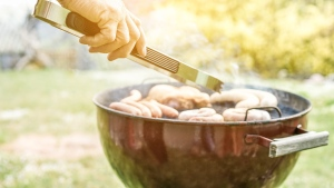 A barbecue in a park. (Shutterstock)