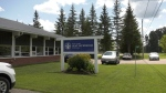 One of the new confirmed cases in Barry's Bay is a staff member at Our Lady Seat of Wisdom College. (Dylan Dyson/CTV News Ottawa)