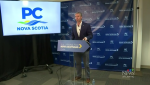 N.S. PC leader Tim Houston's focus was once again on health care, and the need for more family doctors.