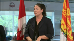 Six weeks after she crossed the floor, Fredericton member of parliament Jenica Atwin welcomed the Deputy Prime Minister on a tour of her riding – which began with a visit to Clinic 554.
