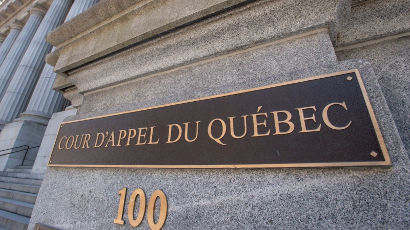 The Quebec Court of Appeals is seen Wednesday, March 27, 2019 in Montreal.THE CANADIAN PRESS/Ryan Remiorz